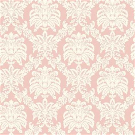 pastel damask pattern the wallpaper company 56 sq ft pink pastel sweeping