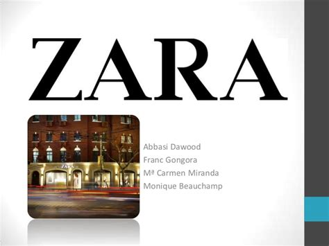 Case Study On Zara Ppt Zara Ppt Template