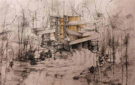 Frank Lloyd Wright Plans For Sale fallingwater house frank lloyd wright by didierch on