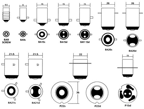 Car Bulb Types by Auto Bulb Ls Classic Ford Parts Small Ford Spares