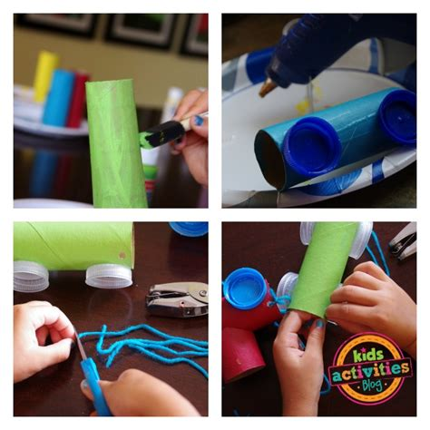 How To Make A Paper Roll - toilet paper roll craft activities