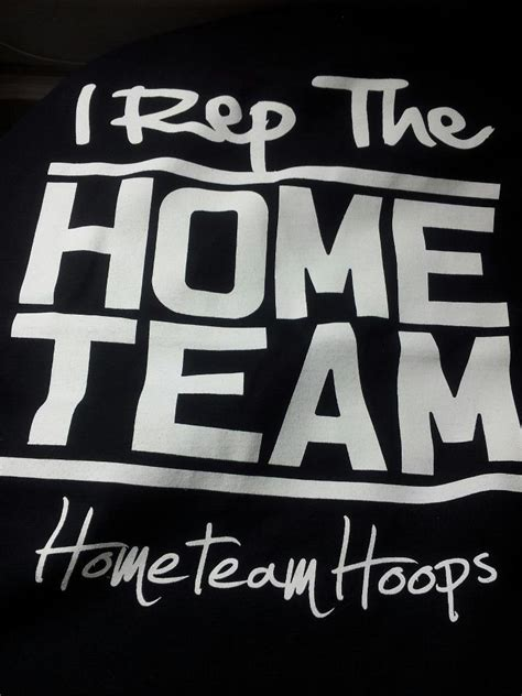 home team hoops i rep the home team
