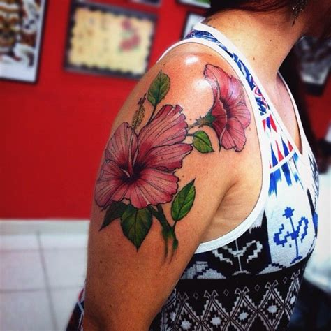 100 hawaiian flower tattoo art and flower tattoos