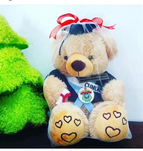 Boneka Wisuda Teddy teddy boneka wisuda unhas kado wisudaku