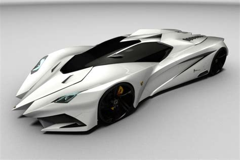 Lamborghini Big Car Lamborghini Feruccio Concept Has Its Swords