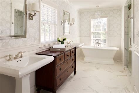 traditional bathroom wallpaper marble wallpaper bathroom