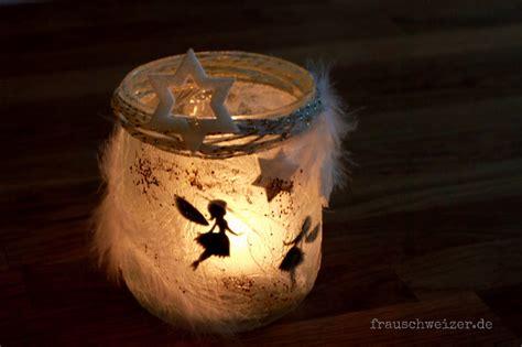 windlicht basteln glas windlicht fee im glas basteln eine diy anleitung zum