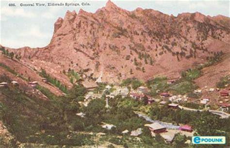 Colorado Springs Restaurant Gift Card - eldorado springs colorado information epodunk