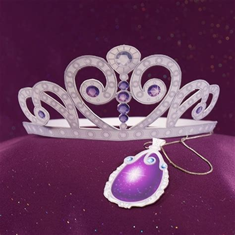 sofia the first tiara and amulet disney family