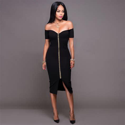 Midi Dress Gaun Bodycon Gray Solid Slim L 192312 Import Sale shoulder bodycon dress sleeve solid