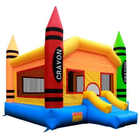 commercial grade bounce house commercial grade crayon bounce house with blower from inflatable hq playground outdoor