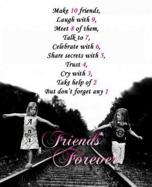 quotes about best friends staying together forever