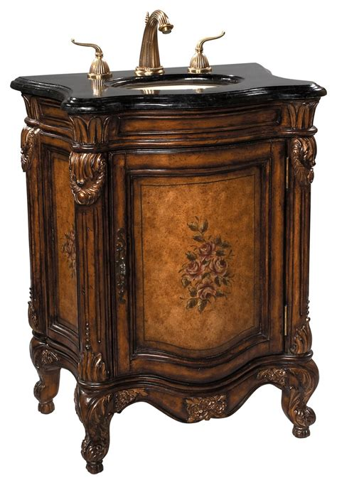 Salle De Bain Antique by Fabulous Floral Painted Sink Chest Ah By Ambella Home