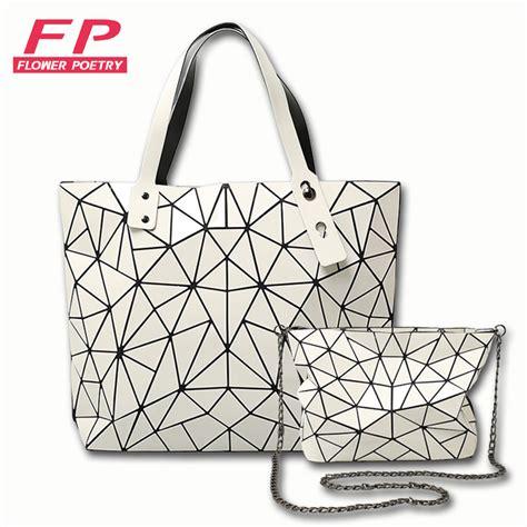 Handbag Bao Bao G172 Murah 2016 new lattice bao bao bags geometry laser baobao handbag bag baobao totes