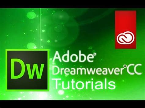 adobe dreamweaver tutorial for beginners dreamweaver cc how to add images and backgrounds