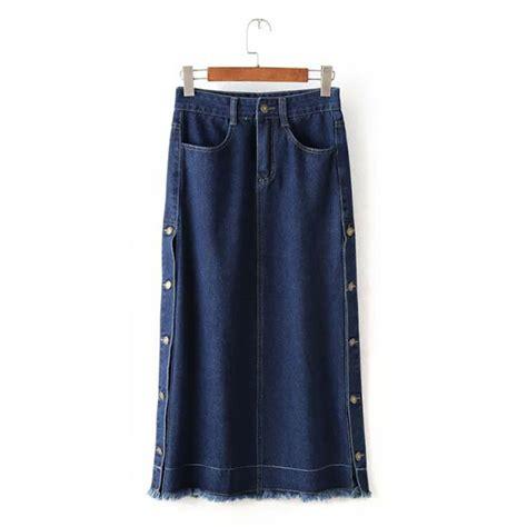 get cheap denim skirts aliexpress