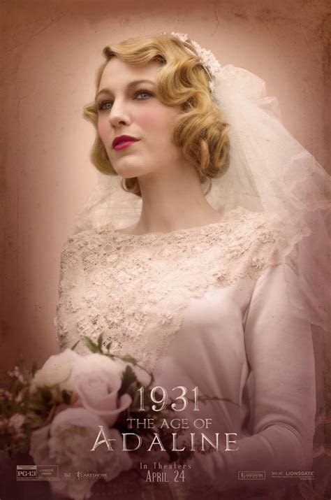 Wedding Hairstyles Through The Ages by Lively Style Retro Looks On The Age Of Adaline Posters
