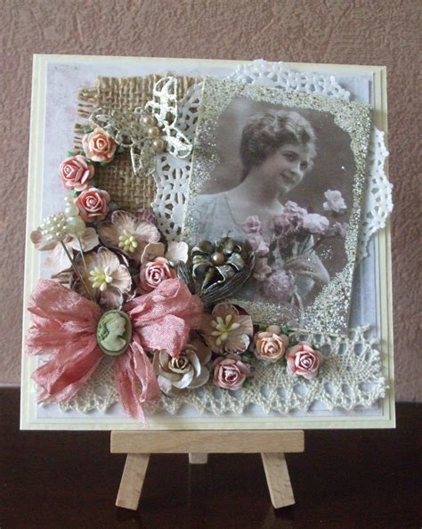 best 25 shabby chic cards ideas on vintage