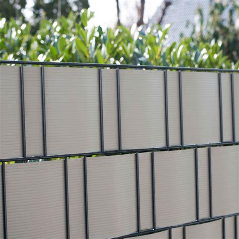 sichtschutz doppelstabmattenzaun pvc sichtschutzstreifen doppelstabmattenzaun aluminium