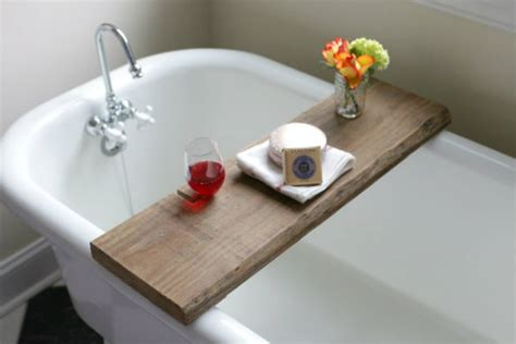 wooden bathtub caddy 12 clever trash to treasure crafts because upcycling s the