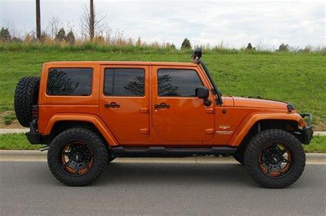 jeep burnt orange jeep wrangler sahara 2014 orange