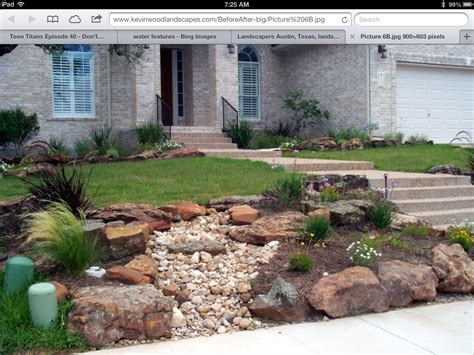 rock garden front yard best 25 landscaping rocks ideas only on