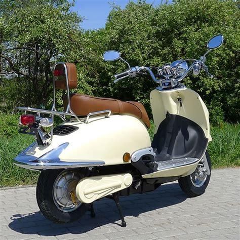 50ccm Motorrad Elektro by Elektro Motorroller 1500 Watt Retro E Scooter Znen