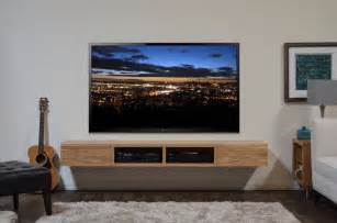 floating media stand contemporary tv cabinet
