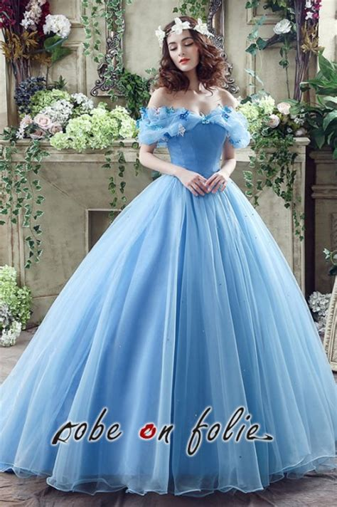 Robe De Mariée Disney - robeenfolie robe de mari 233 e bleue disney cendrillon en