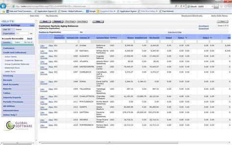 Accounts Receivable Tracking Spreadsheet by Isuite Accounts Receivable Globalsoftwareinc