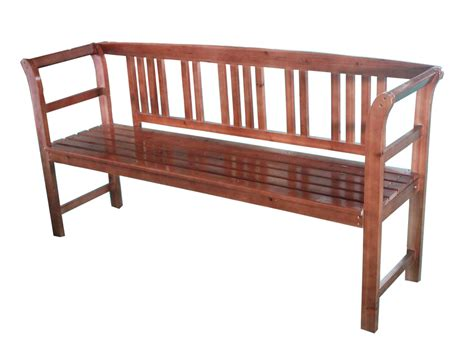 hardwood bench seat 3 seat seater wooden bench chair tawny outdoor hardwood