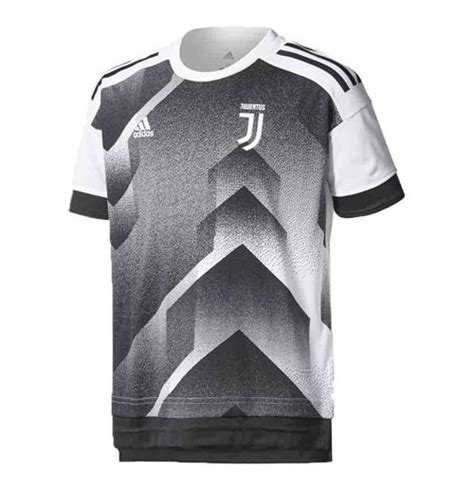 Jersey Juventus Prematch White 16 17 2017 2018 juventus adidas pre match shirt black