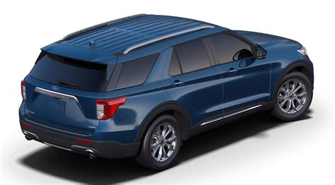 ford explorer   atlas blue color