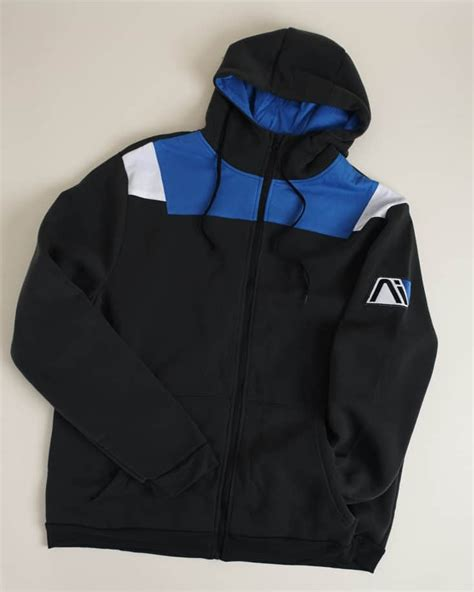 Hoodie Zipper Mass Effect Andromeda Initiative loot crate mass effect andromeda limited edition crate review my subscription addiction