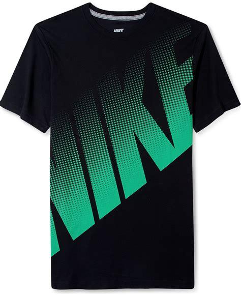 Nike Logo T Shirt nike shirt big dot logo t shirt t shirts macy s