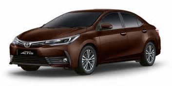 Toyota Corolla Altis 2017 Toyota Corolla Altis Facelift Launched Price