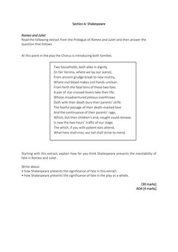 Romeo And Juliet Essay Questions And Answers by Essay Questions And Answers On Romeo And Juliet
