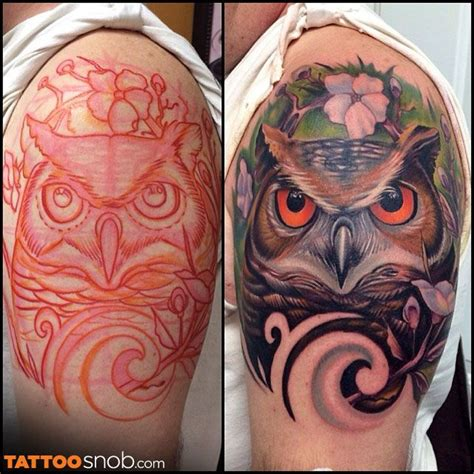mystic owl tattoo 69 best images on ideas