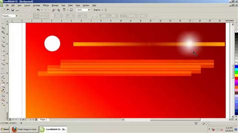 corel draw x5 remove white background how to create background design in coreldraw x5 tamil part