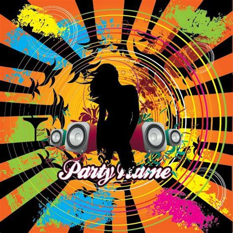 party music free city music party vector illustration free vector