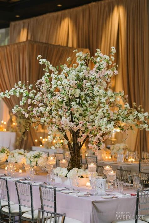 tree centerpieces ideas diy tree centerpiece for wedding reception table ideas