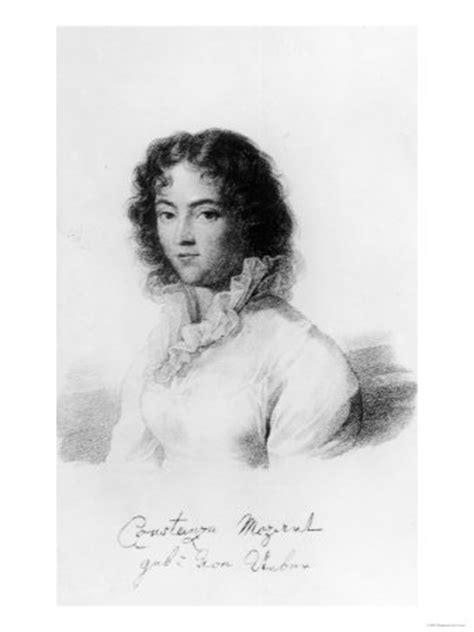 mozart biography wife constanze mozart deskarati