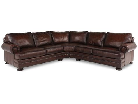 bernhardt foster leather sectional sectional trisha s living room pinterest