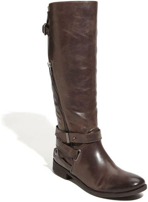 luxury rebel luma boot in brown brown leather