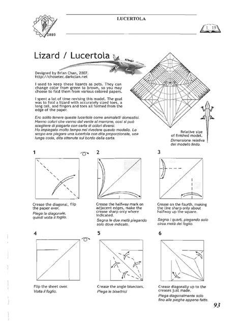 Brian Chan Origami Book - lizard brian chan pdf