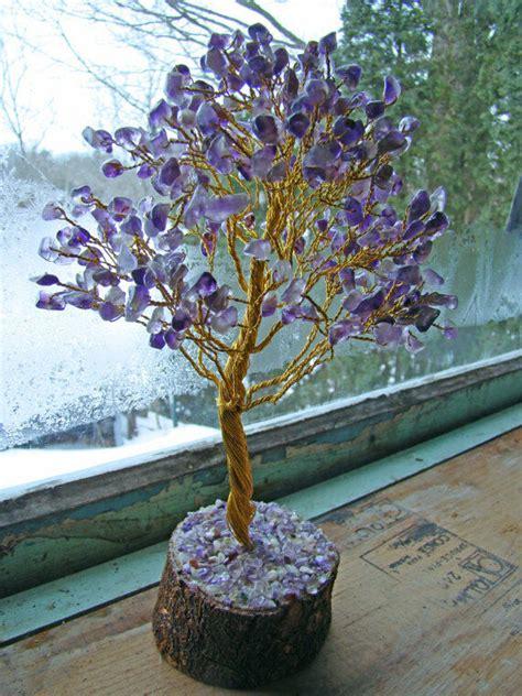 amethyst stone spiritual reiki tree feng shui vastu