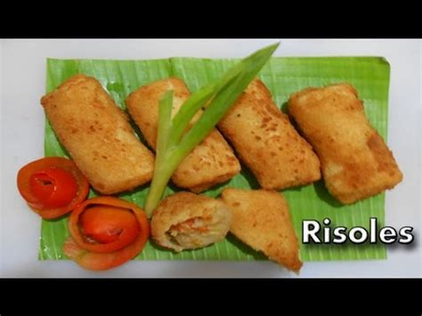membuat risoles youtube risoles resep risoles cara membuat risoles mantap