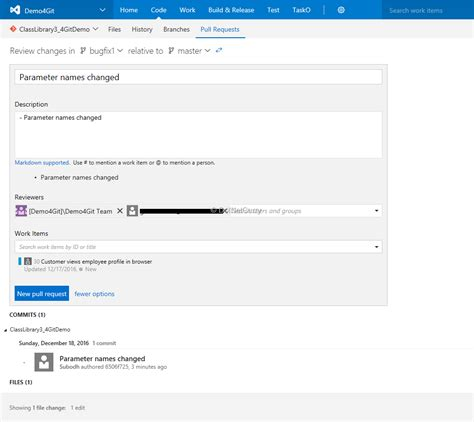 git tutorial pull request review code using vsts git pull request freeapinow com