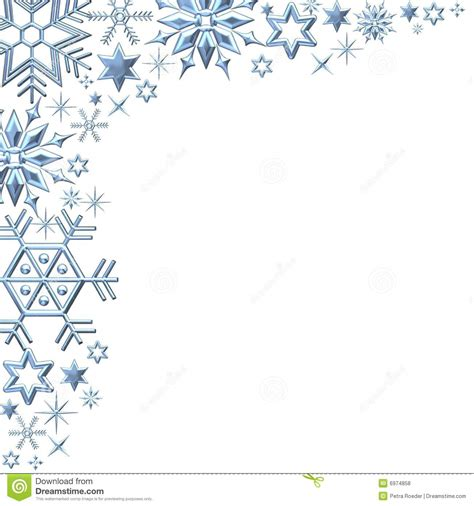printable winter images christmas snowflake border clipart 25