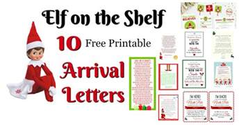 on the shelf ideas for arrival 10 free printables